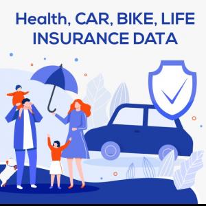 health insurance, life insurance database